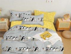 Комплект постельного белья Zastelli Бязь Пингвины 145х210 (2500000992681)
