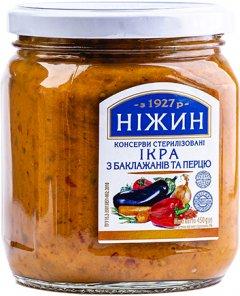 Икра Нежин (Ніжин) из баклажанов и сладкого перца 450 г (4823006804979)