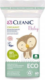 Ватные диски для детей Cleanic Baby Есо 60 шт (5900095029755)