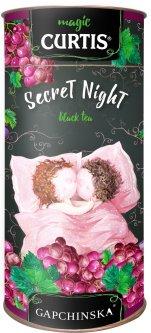 Чай Curtis черный Secret Night со вкусом винограда 80 г (4823063706568)