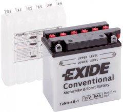 Мото аккумулятор Exide Conventional 9 Ah (+/-) 85EN (12N9-4B-1)