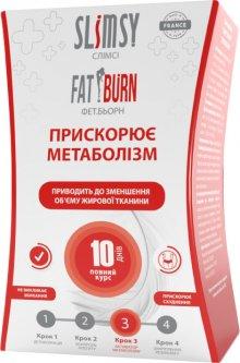 Диетическая добавка Slimsy Фет Берн активация метаболизма 21 стик (3760160411449)