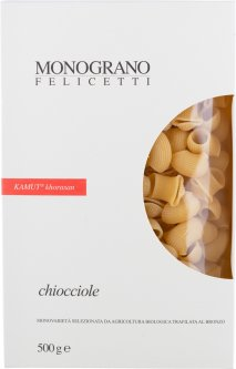 Макароны Felicetti Monograno Киочоле из пшеницы Камут 500 г (8000755001736)