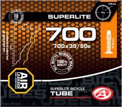Велокамера Author AT-CROSS-700C SuperLite FV40 700x35/50C в коробочке (37238216)