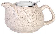 Заварочный чайник Fissman с ситечком 750 мл Белый песок (9389)
