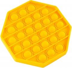 Игрушка антистресс Sibelly Pop It Mono Octagon Yellow (SB-PPIT-OCT-YL) (9869205468661)