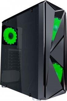 Корпус 1stPlayer F4-3A1-15LED Green