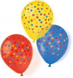 Латексные шарики Amscan Confetti Party 27.5 см 10 шт (9904030)