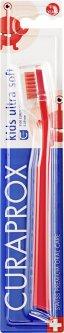 Зубная щетка детская Curaprox CS Kids ультра-мягкая d 0.09 мм красная (CS Kids-06)