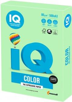 Бумага офисная IQ Color MG28 A3 80 г/м2 500 листов Зеленая (9003974402727)