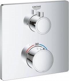 Верхняя часть термостатического смесителя для душа GROHE Grohtherm 24078000