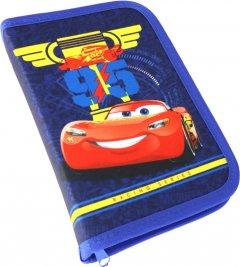 Пенал HIPE Disney Cars с 1 отделением и 2 отворотами Синий (2000009310900)