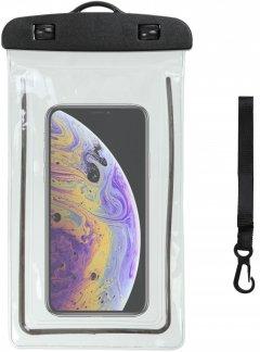 """Чехол водонепроницаемый Armorstandart Waterproof Phosphoric для смартфона 7"""" универсальный Black (ARM59299)"""