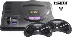 Игровая консоль Retro Genesis 16 bit HD Ultra 150 игр, 2 беспроводных джойстика, HDMI кабель (CONSKDN70)