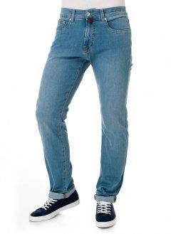 Чоловічі джинси Pierre Cardin з потертістю 38/32 Блакитні (А:7635/18 М:3178)