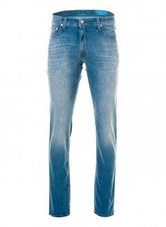 Чоловічі джинси Pierre Cardin з потертістю 38/36 Блакитні (А:8880/46 М:3451)
