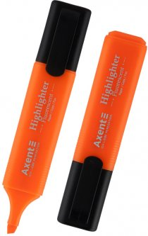 Набор текстовых маркеров Delta by Axent Highlighte Оранжевый 1-5 мм 12 шт (2531-12-A)