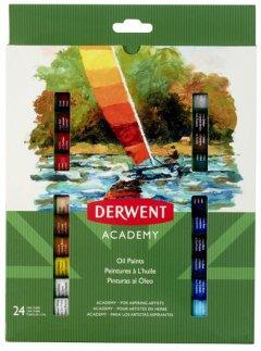 Набор масляных красок Derwent Academy 24 цвета 12 мл (98224)