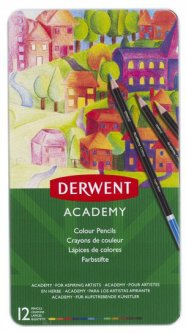 Набор цветных карандашей Derwent Academy Colour 12 цветов (2301937)