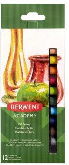 Набор масляной пастели Derwent Academy Oil Pastel 12 цветов (2301952)