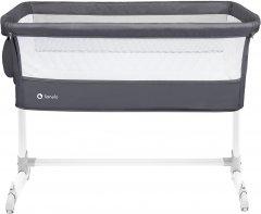 Приставная кроватка Lionelo Theo Dark Grey (LO.TH02)