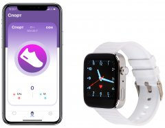 Смарт-часы Atrix Watch X40 Pulse and Tonometer Silver Aluminum (swatxx40sa)
