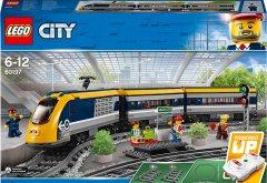 Конструктор LEGO City Пассажирский поезд 677 деталей (60197) (5702016109788)