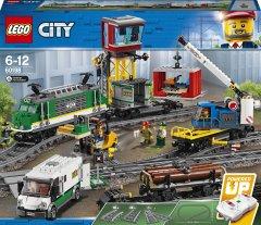 Конструктор LEGO City Товарный поезд 1226 деталей (60198) (5702016109795)