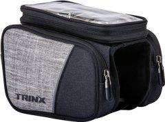 Сумка на раму Trinx TB70 Black-Gray (TB70.Grey)