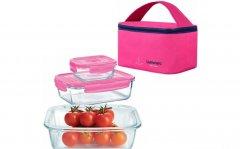 Набор контейнеров с сумкой Luminarc Pure Box Active 3 предмета (P9972)