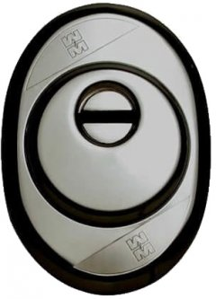 Броненакладка Mottura Defender с кольцом Черная (TD6997)