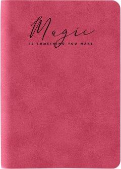 Книга записная Axent Nuba Soft А6 96 листов в клетку Красная (8604-06-A)