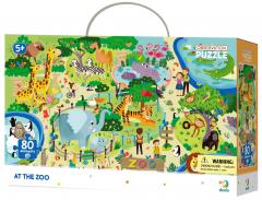 Пазл DoDo Зоопарк 80 элементов (300259) (4820198242046)