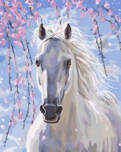 Картина по номерам Bookopt Белый красавец 50х40 см (bk_1230) (2252520892018)