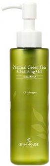 Гидрофильное масло The Skin House с экстрактом зеленого чая Natural Green Tea Cleansing Oil 150 мл (8809080823385)