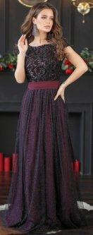 Платье New Fashion 329 48 Марсала (2000000417639)
