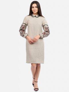 Платье-вышиванка Edelvika 263-19/08 54 Бежевое (2100000434862)