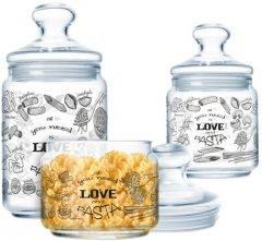 Набор банок Luminarc Club Love Pasta 3 предмета (P6675)