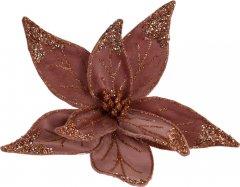 Елочная игрушка Christmas Decoration Пуансеттия 30 см Розовая (YZB001530_pink)