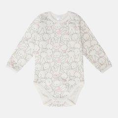 Боди Garden Baby 19926-02 74 см Зайки розовые (4821992602616)