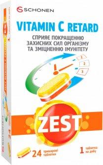 Зест ZEST Витамин С Ретард 24 таблетки (000001012)