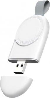 Беспроводное зарядное устройство Ailink Apple Watch Portable Magnetic Charger Белое (AI-AWC-2)