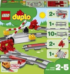 Конструктор LEGO DUPLO Town Рельсы 23 деталей (10882) (5702016117288)