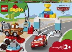 Конструктор LEGO DUPLO Машинки Гонки Молнии Маккуина 42 детали (10924)