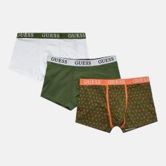Трусы-шорты Guess U1GG05-K6YW1-GRMU XL 3 шт Green Multi (7618483574173)
