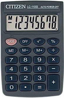 Калькулятор Citizen (LC-110)