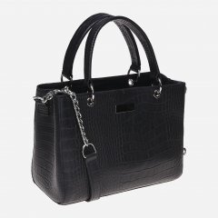 Женская сумка кожаная Palmera 10l797rep Черная (ROZ6400011285)