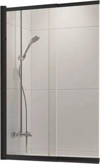 Шторка для ванны NEW TRENDY Sensi Black 100 P-0046