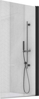 Шторка для ванны SANSWISS Solino BlackLine SOEB107500607