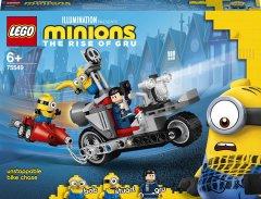 Конструктор LEGO Minions Невероятная погоня на мотоцикле 136 деталей (75549)